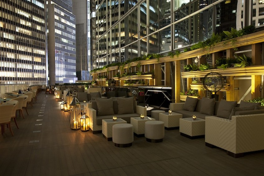 Top-15 Hong Kong rooftop bars - Armani Privé